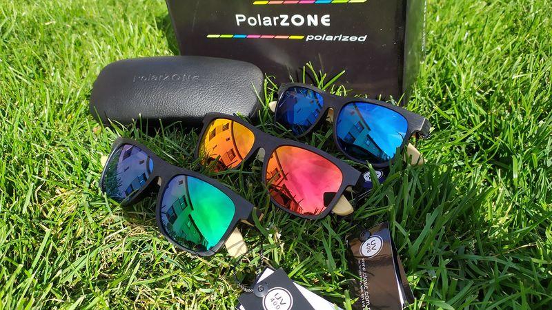 PolarZONE #HIT! okulary z polaryzacją #bambus ETUI GRATIS!!! na Arena.pl