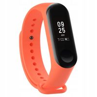 OPASKA SILIKONOWA DO XIAOMI MI BAND 3/4| ORANGE