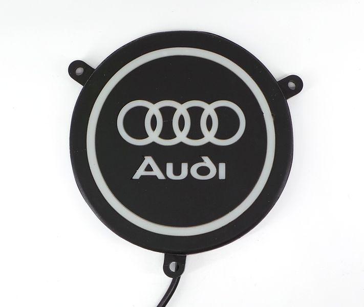 Audi logo LED  podświetlane, wodoodporne zdjęcie 1