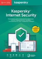Kaspersky Internet Security 5 urządzeń / 1 rok kontynuacja