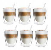 Szklanki Termiczne Podwójna Ścianka Kawa Herbata 320ml Vialli Design 6