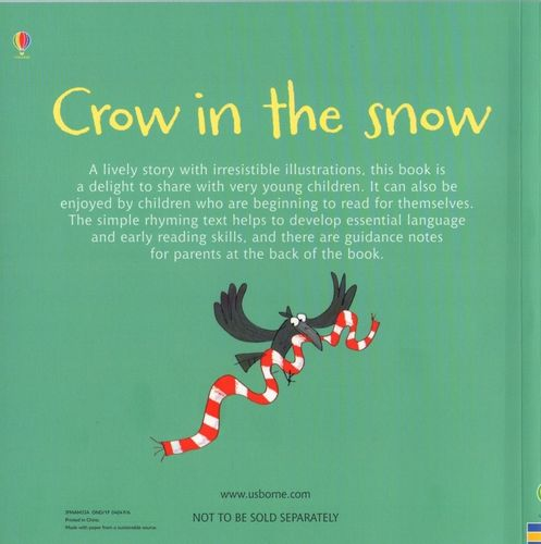 Usborne Phonics Readers - Crow in the Snow na Arena.pl