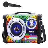 BOOMBOX Hi-Fi ODTWARZACZ MP3 RADIO KARAOKE 25W