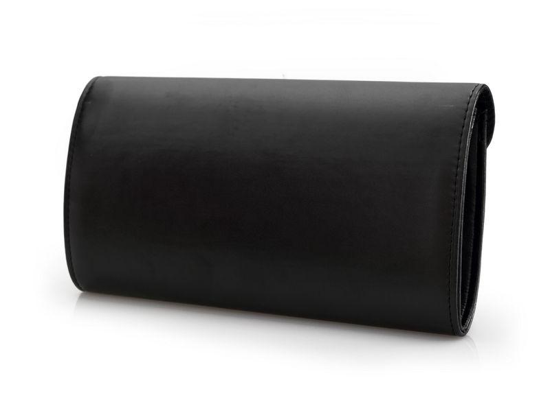 KOPERTÓWKA torebka wizytowa matowa V052 jasna szara zdjęcie 6