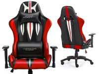 SWORD RED Fotel gamingowy Warrior Chairs