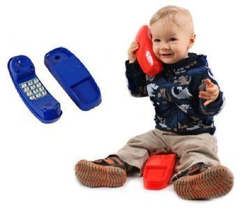 Telefon na plac zabaw dźwiękowy 4 kolory