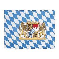 Flaga bawarska 90 x 150 cm