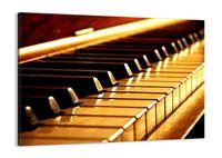 Obraz Na Płótnie - Fortepian Muzyka - 70X50 Cm - Aa70X50-2200