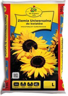 Ziemia Uniwersalna Do Kwiatów 50L KIK