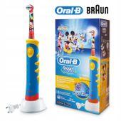 Szczoteczka dla dzieci Braun ORAL-B MYSZKA MIKI Prezent 8 końcówek zdjęcie 3