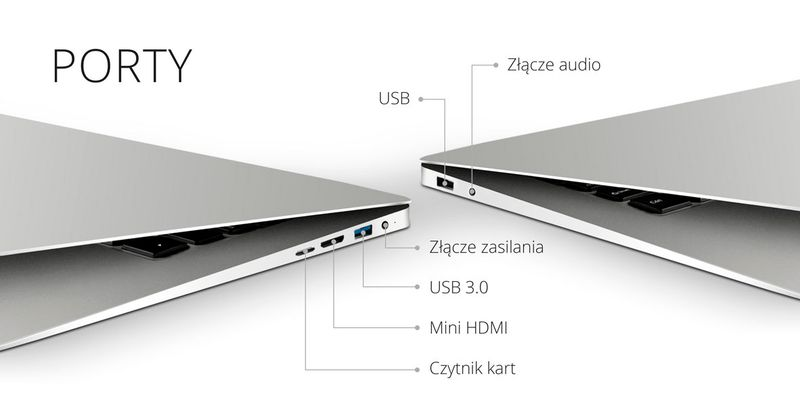 Laptop Ultrabook Kruger&Matz 1403 zdjęcie 2