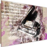 Deco Panel, Fortepian abstrakcja 60x40