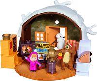 SIMBA Masza i Niedźwiedź Zimowy domek Niedźwiedzia 930-1023