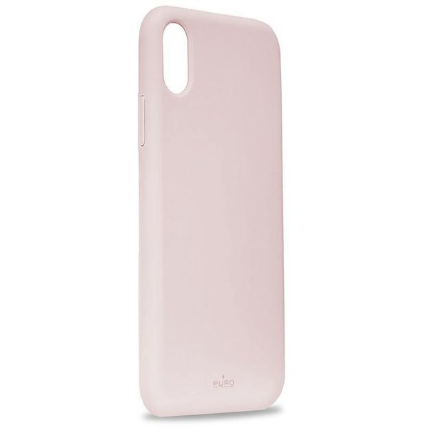 2495f7ba0419a PURO ICON Cover - Etui iPhone Xs Max (różowy) Limited edition • Arena.pl