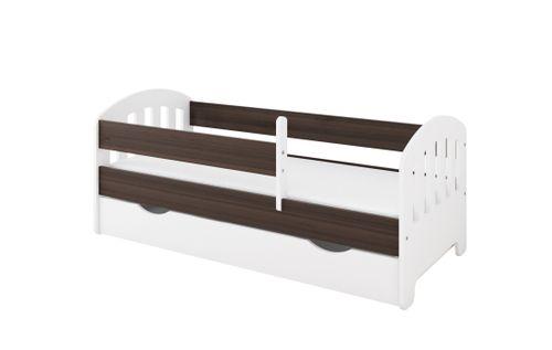 Łóżko CLASSIC II 160 x 70 szuflada + barierka ochronna + MATERAC na Arena.pl