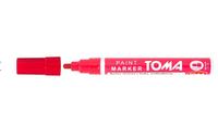 Flamaster (marker, mazak, pisak) do znakowania matek OLEJOWY - czerwony