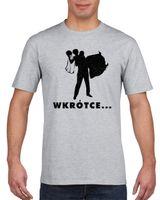 Koszulka męska WIECZóR KAWALERSKI WKRóTCE  s XXL
