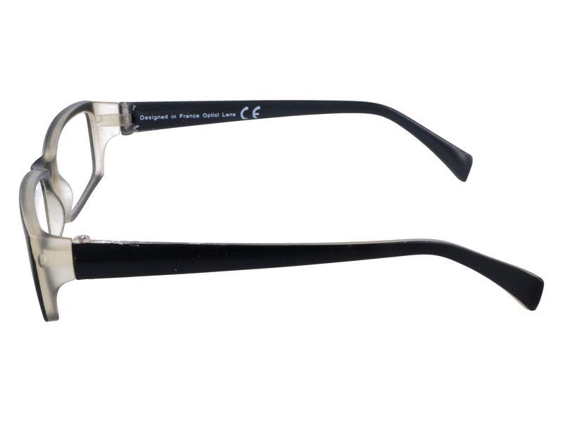Prostokątne zastępcze okulary plusy czarne +1.00 zdjęcie 5