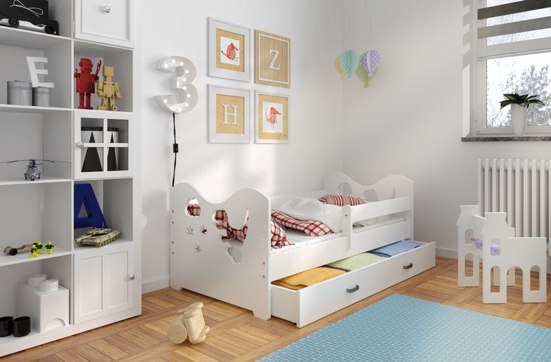 łóżko Dziecięce 160x80 Dla Dzieci B3 Z Materacem I Szufladą Arenapl