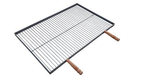 Ruszt do grilla nierdzewny prostokątny 60x40cm na Arena.pl