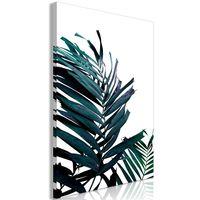 Obraz - Szmaragdowe liście (1-częściowy) szeroki