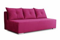 Kanapa Luna różowa rozkładana sofa z funkcją spania od producenta