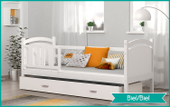 Łóżko dla dzieci OLAF COLOR 190x80 + szuflada + materac