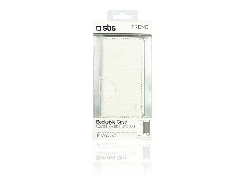 Etui SBS Book Style do iPhone 5S Białe zdjęcie 4