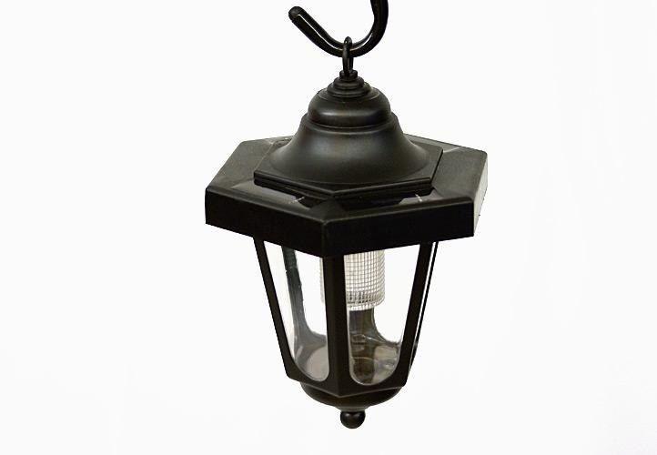 Lampa solarna w kształcie latarni LED, wysokość 70 cm zdjęcie 3