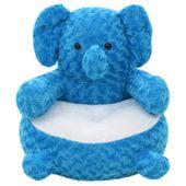 Pluszowy słoń przytulanka, niebieski GXP-680211