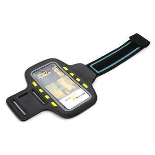 Opaska na ramię na smartfona z diodami LED CZARNA