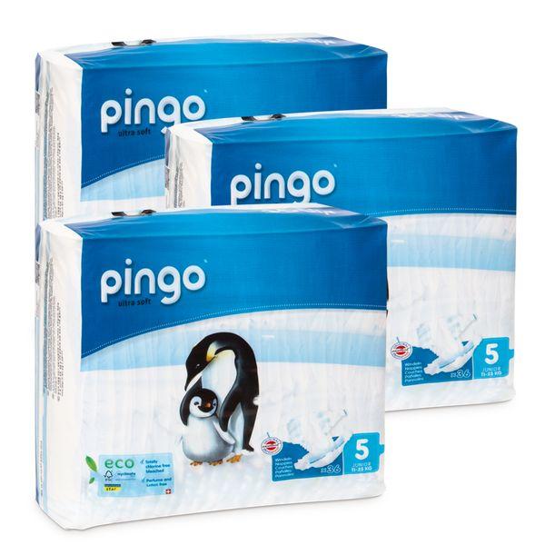 Pieluszki Pingo Ultra Soft 5 JUNIOR 108szt. (3x36) na Arena.pl