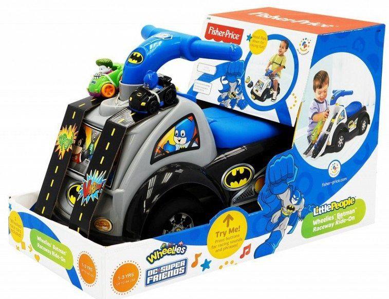 Chodzik jeździk Batman Fisher Price zdjęcie 2