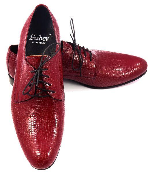 d92ffcc5c9421 Czerwone/jasnobordowe buty - imitacja skóry węża T72 Rozmiar Obuwia - 39  zdjęcie 3