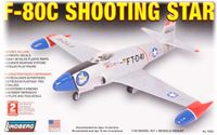 Model Plastikowy Do Sklejania Lindberg (USA) Samolot F-80 C Shooting star