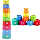 Zabawka Edukacyjna klocki liczby i litery iko