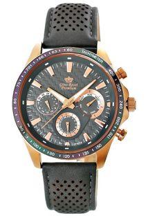 Zegarek Męski Gino Rossi Stalowy Premium S523A-1B3