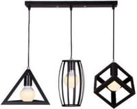 LAMPA LOFT EDISON ŻYRANDOL NORDIC LED FIGURA GEOMETRYCZNA 664485