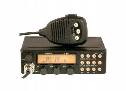 CB Radio Yosan Jc850 AM/FM 4W ASQ Promocja