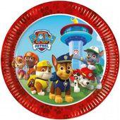 TALERZYKI psi patrol PAW PATROL urodzinowe 23cm