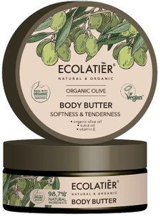 Ecolatier olive masło do ciała delikatność skóry