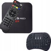 SMART TV BOX MXQ PRO 4K 2GB ANDROID 7 KLAWIATURA