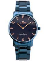 ZEGAREK MĘSKI GINO ROSSI 10194B-6F3 (zg257g) blue