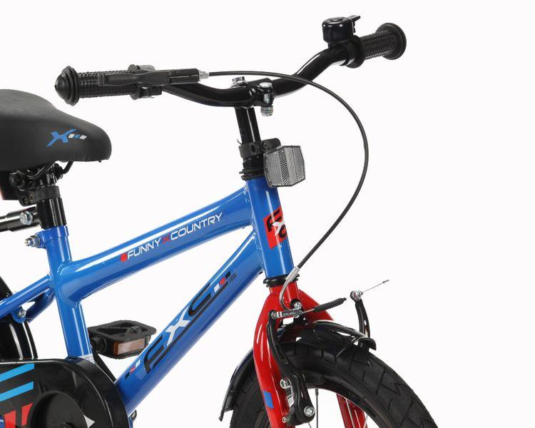 16 cali Rower dla dzieci  FXC Boy Rowerek + GRATIS Prowadnik zdjęcie 6