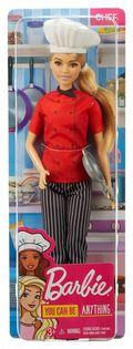 Mattel Lalka Barbie Kariera Szef Kuchni