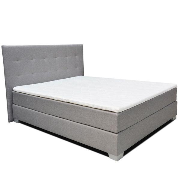 Łóżko kontynentalne 160 Paris z podwójnym materacem bonellowym zdjęcie 1