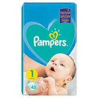 PAMPERS 1 2-5kg 43szt - pampersy