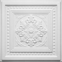 Kasetony sufitowe białe, piankowe 3D D-36