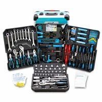 Zestaw narzędzi w walizce 1200 elelemntów klucze narzędzia 15421