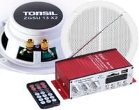 TONSIL RADIO ŁAZIENKOWE SUFIT BLUETOOTH MP3 FM BT